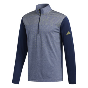 New Men's Adidas Golf Lightweight UPF 1/4 Zip Pullover - Choose Size & Color!