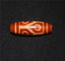 necklace pendant six eyed tibetan dzi bead antique amulet 6 eyes agate genuine
