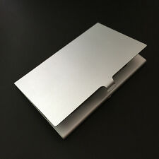 Stainless Steel Business ID Credit Card Case Slim Holder Wallet Pocket Box Purse
