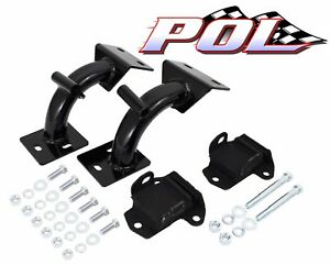 Performance Online 1963-67 Chevy Truck Tubular V-8 Engine Mount Brackets