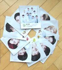 Korean cosmetic Nature Republic K-Pop EXO Hydrogel Mask Sheet Pack set 10 pieces