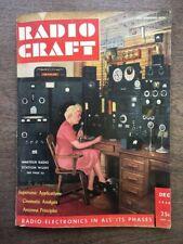 Radio Craft Magazine, Vol XVIII No 3, December 1946 - BL61-110