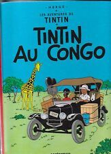 TINTIN    AU    CONGO           HERGE              CASTERMAN       édition  1970