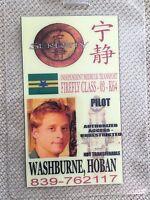 Serenity/Firefly ID Badge- PILOT HOBAN WASHBURNE