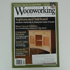 Popular Woodworking - Sophisticated Sideboard, Compound Dovetail Plans