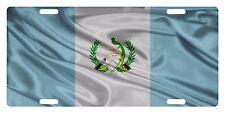 GUATEMALA Flag Custom License Plate Guatemalan Central American Wave Version