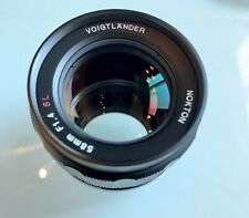 Voigtlander Nokton 58mm f/1.4 MF SL Lens For Nikon In Excellent ++ Condition.