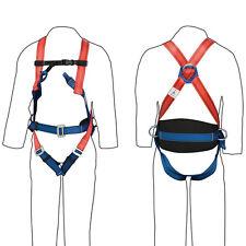 T1075 Silverline arresto caduta & moderazione Harness 4 Punti di Sicurezza & Workwear