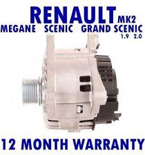 RENAULT - MEGANE - SCENIC - GRAND SCENIC - 1.9 2.0 - 2002 - 2015 RMFD ALTERNATOR