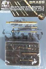 AFV CLUB - 1/35 Sd.Kfz 231/232 Barrel & Clearance Pole - AG35035