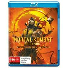 Mortal Kombat Legends Scorpions Revenge Blu-ray BRAND NEW Region B