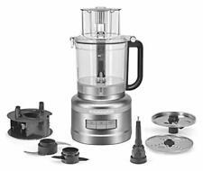 Brand New KitchenAid KFP1318CU 13-Cup Food Processor, Contour Silver