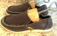CROCS MENS Santa Cruz Slip On BLUE Loafers. Size 7