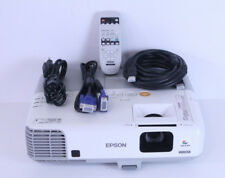 Epson Powerlite 96W/ H384A 3LCD Projector With Remote, HDMI & VGA Bundle