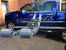PAIR OF DAF 45 LF 7.5T HEAVY DUTY 2 LEAF FRONT SPRINGS COMPLETE WITH U BOLTS