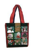 NEW TJ Maxx Christmas Shopping Bags Small 2 Pack Reusable Travel Tote Bag