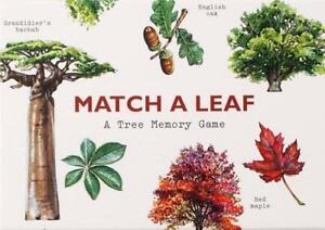 Match a Leaf: A Tree Memory Game: 1 (Games), Kirkham, Tony, New,