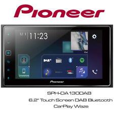 "Pioneer SPH-DA130DAB - 6.2"" Touch Screen DAB Bluetooth CarPlay Waze GPS Stereo"