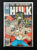 THE INCREDIBLE HULK #353 MARVEL COMICS 1989 VF+ NEWSSTAND EDITION