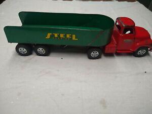 Tonka Steel hauler Semi