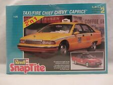 Revell  Taxi / Fire Chief Chevy Caprice Model Kit  NIB 1:25 scale  (318H)  6294