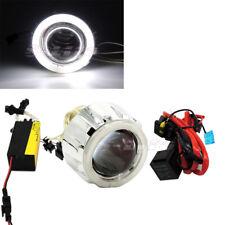 "Sports 2"" MOTORCYCLE BI-XENON HID KIT Angel Eye Headlight Lens Projector Light"