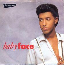 "Babyface ~ It's No Crime >7"" Vinyl Single 1989"