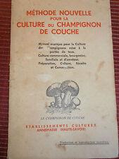 MYCOLOGIE CULTURE DU CHAMPIGNONS DE COUCHE  (32)