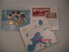 *** EURO KMS LUXEMBURG 2003 BU Kursmünzensatz Luxembourg Coin Set Münzen ***