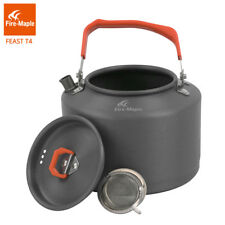 Outdoor Camping Kettle Coffee Tea Pot with Toolswith Heat Proof Handle 1.5L