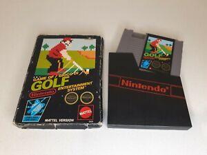 Golf (Nintendo NES) PAL In Original Box