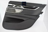 BMW 7 G11 Türverkleidung Rechts Hinten Panel Leather Nappa Black 300km!