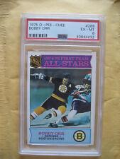 1975-76 OPC O-Pee-Chee Bobby Orr 1st Team All Star #288 PSA 6 Boston Bruins