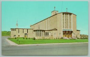 Rapid City SD~Our Lady of Perpetual Help Catholic Cathedral~Vintage Postcard