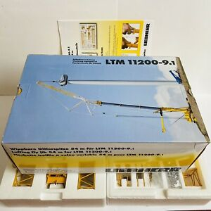NZG Liebherr LTM 11200-9.1 Wippspitze Gittermastspitze Wippe 1:50 OVP (Sarens)