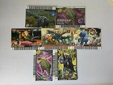 MIXED LOT 7 Dinosaur King JAPANESE Arcade SEGA Card game MINT CONDITION #1832