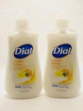 2 Dial Moisturizing Liquid Hand Soap Vanilla Honey Scent 7.5 FL OZ Each