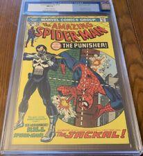 Amazing Spider-Man 129 cgc 9.4 White Pages 1st Punisher