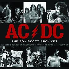 AC/DC New Sealed 2019 LIVE 1970s BON SCOTT ERA CONCERTS 3 CD BOXSET