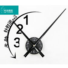 Retro Flyback Wall Clock Reverse Time Creative Vintage Watch Home Decor 19""