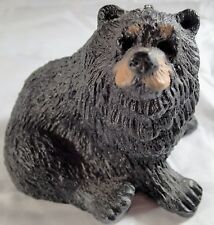 Realistic Sitting Black Bear Candle Wax 4.5 x 5 in Cabin Decor Never Been Lit