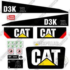 Caterpillar D3K XL Decal Kit Dozer Safety Decals Warning Stickers Crawler