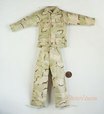 1:6 Figure US Army Desert USMC USAF Camo Combat Jacket Pants Suit Uniform DA280