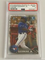 2016 BOWMAN CHROME PROSPECTS VLADIMIR GUERRERO JR #BCP55 ROOKIE CARD RC PSA 9