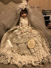 VINTAGE BOUTIQUE DOLL CORP  BRIDE DOLL WITH ORIGINAL TAG BOUTIQUE DOLL CO