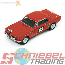 1964 Ford Mustang [PremiumX PRD310] #83, Rally France, 1:43 Die Cast