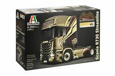 Italeri 3930 1/24 Show Truck Model Kit Scania R730 Streamline V8 Team Shimera