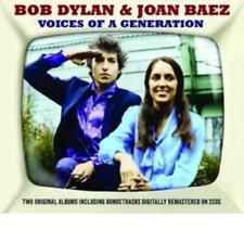 Voices Of A Generation von Dylan Bob & Baez Joan (2013)