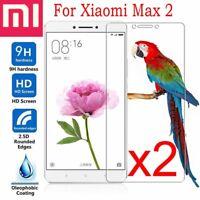 For Xiaomi Mi Max 2 Anti-Scratch 9H Tempered Glass Clear Film Guard Screen Lot