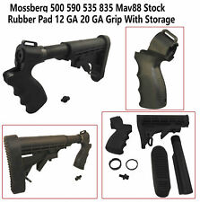 Mossberg 500 590 535 835 Mav88 Stock Rubber Pad 12 GA 20 GA Grip With Storage